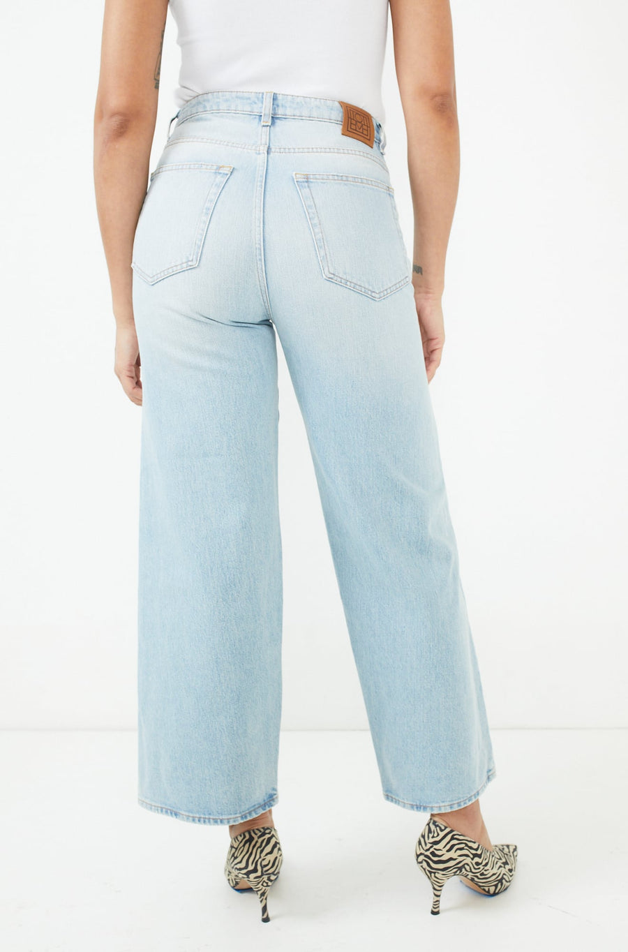 Flair Jeans-light blue wash