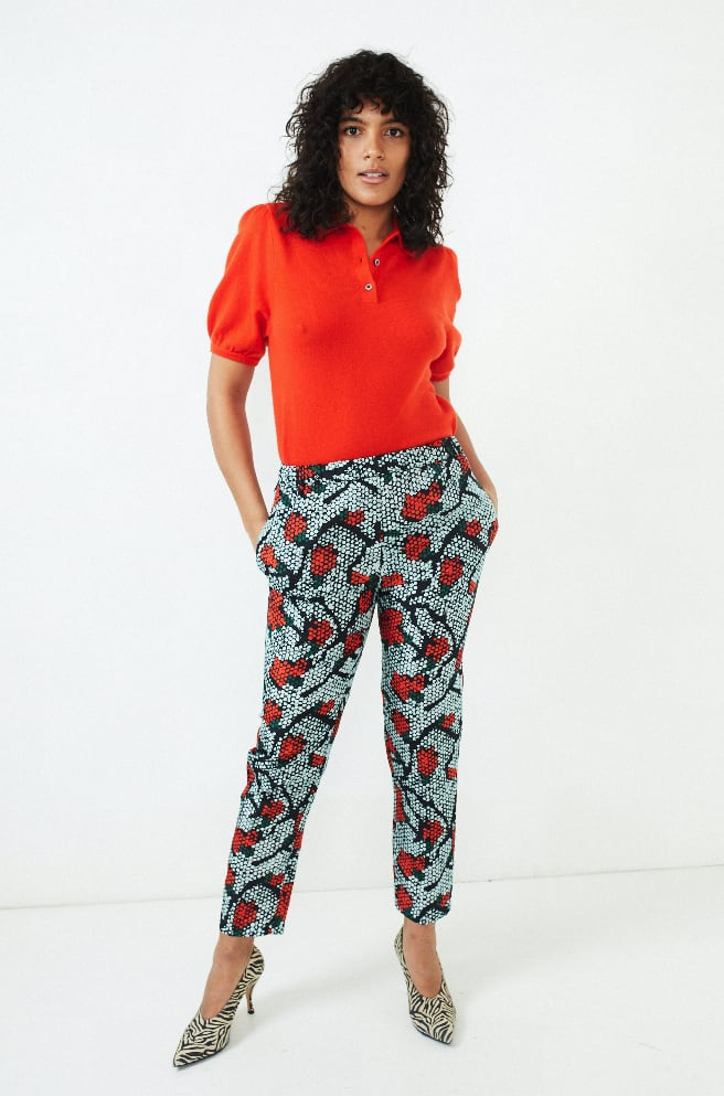 Perun Trouser-red iris