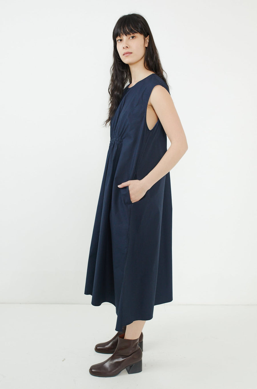 Maris Dress-navy