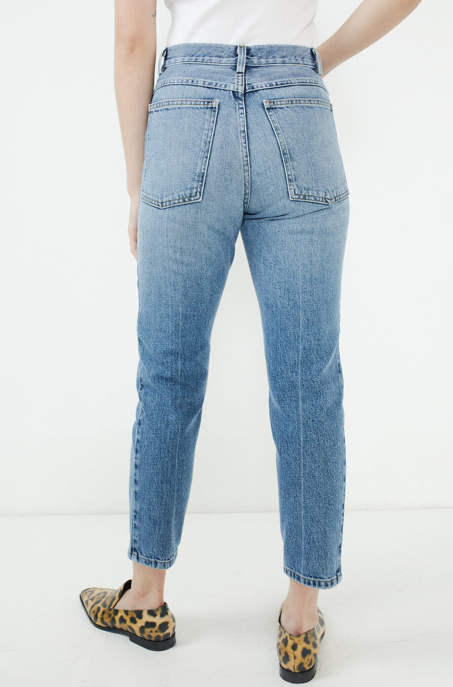 Tesoro Pant-washed indigo