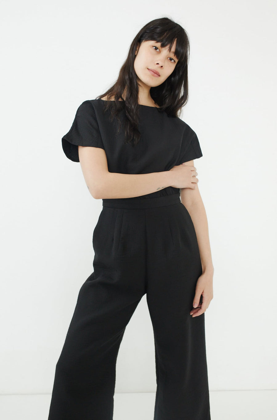 Benedict Jumpsuit-black