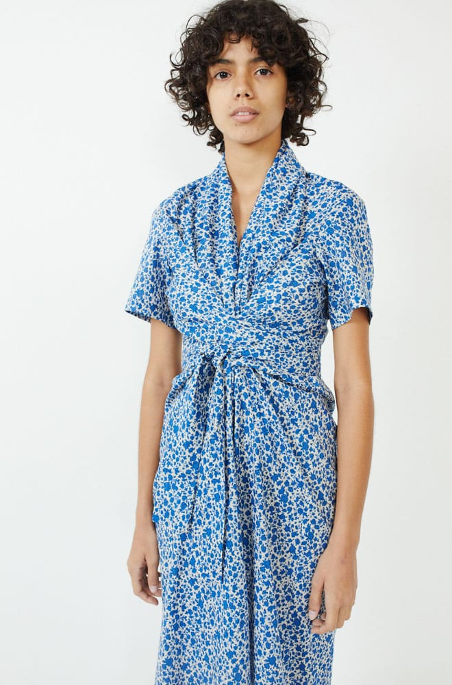 Jocelyn Dress-blue