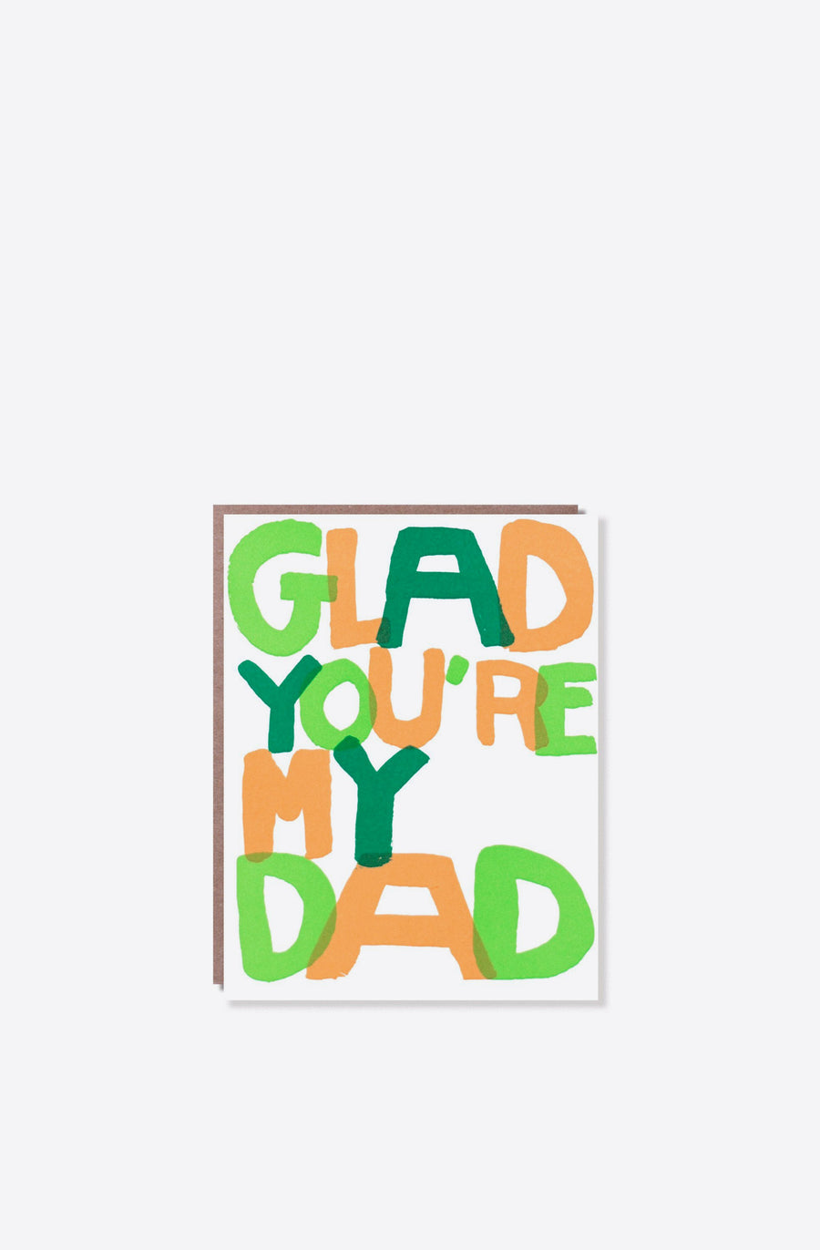 Glad You're My Dad Card-multi