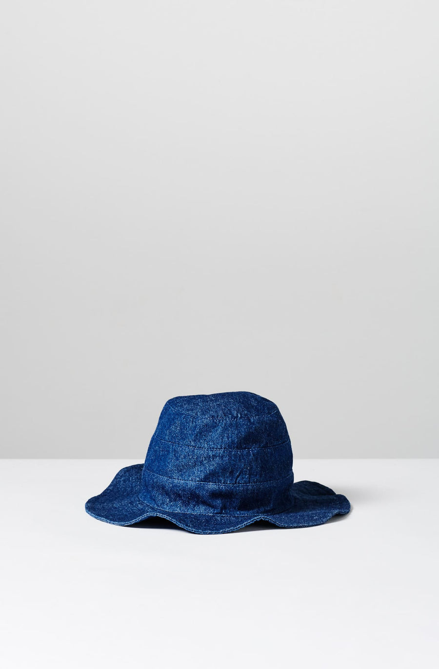 Washed Denim Hat-washed indigo denim