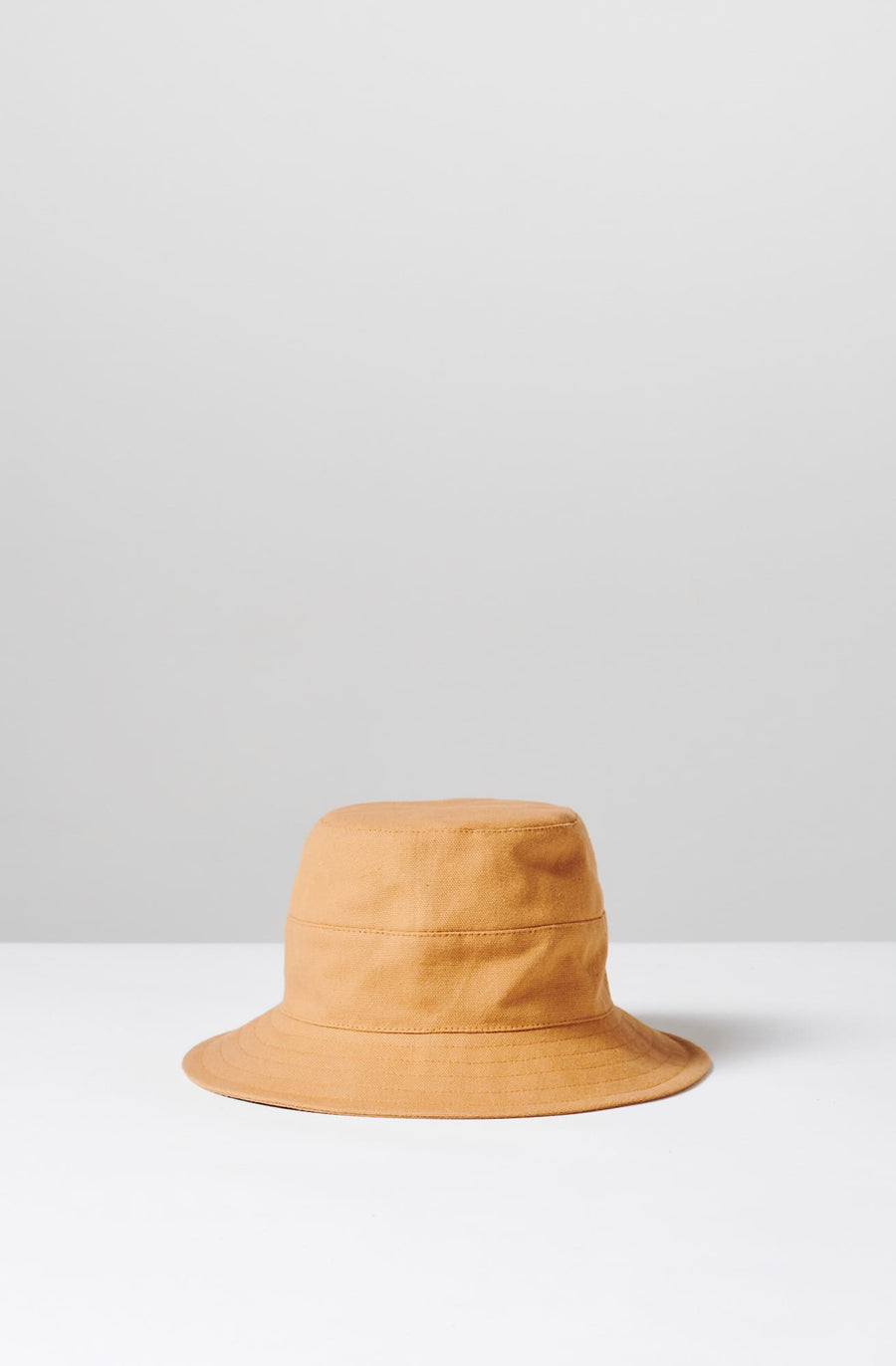 Cotton Bucket Hat-nutmeg