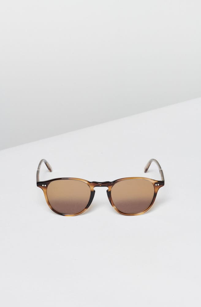 Hampton 46 Sunglasses-tortoise/semi flat pure coffee