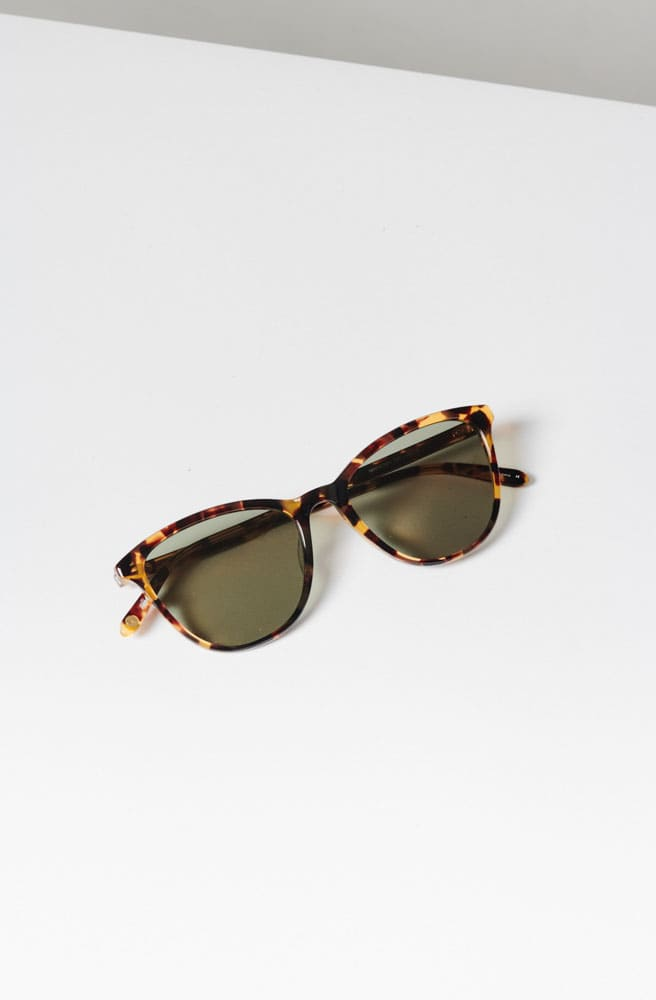 Magician 52 Sunglasses-dark tortoise/semi-flat green