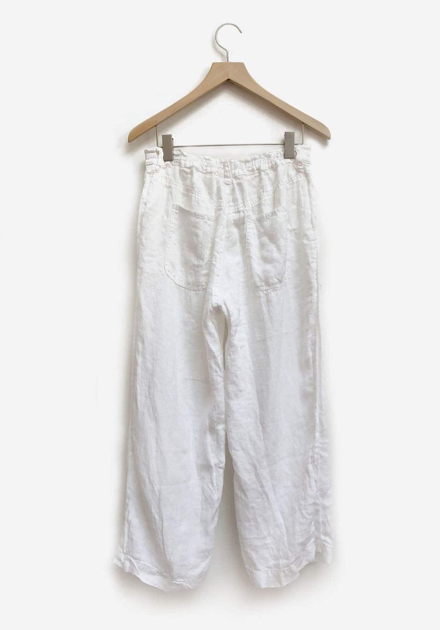 Riley Pant-white