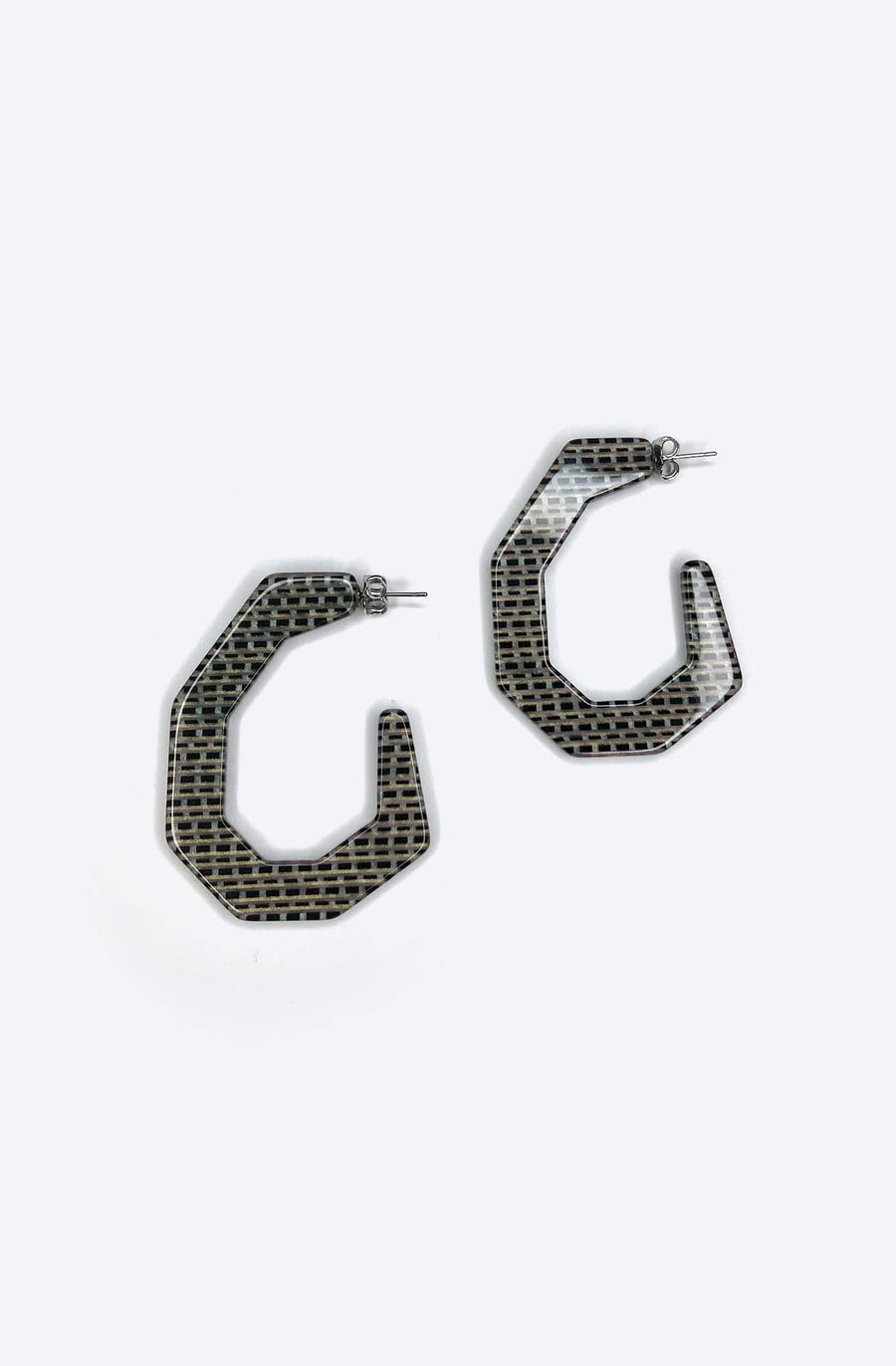 Baby Factor Earrings-black multi