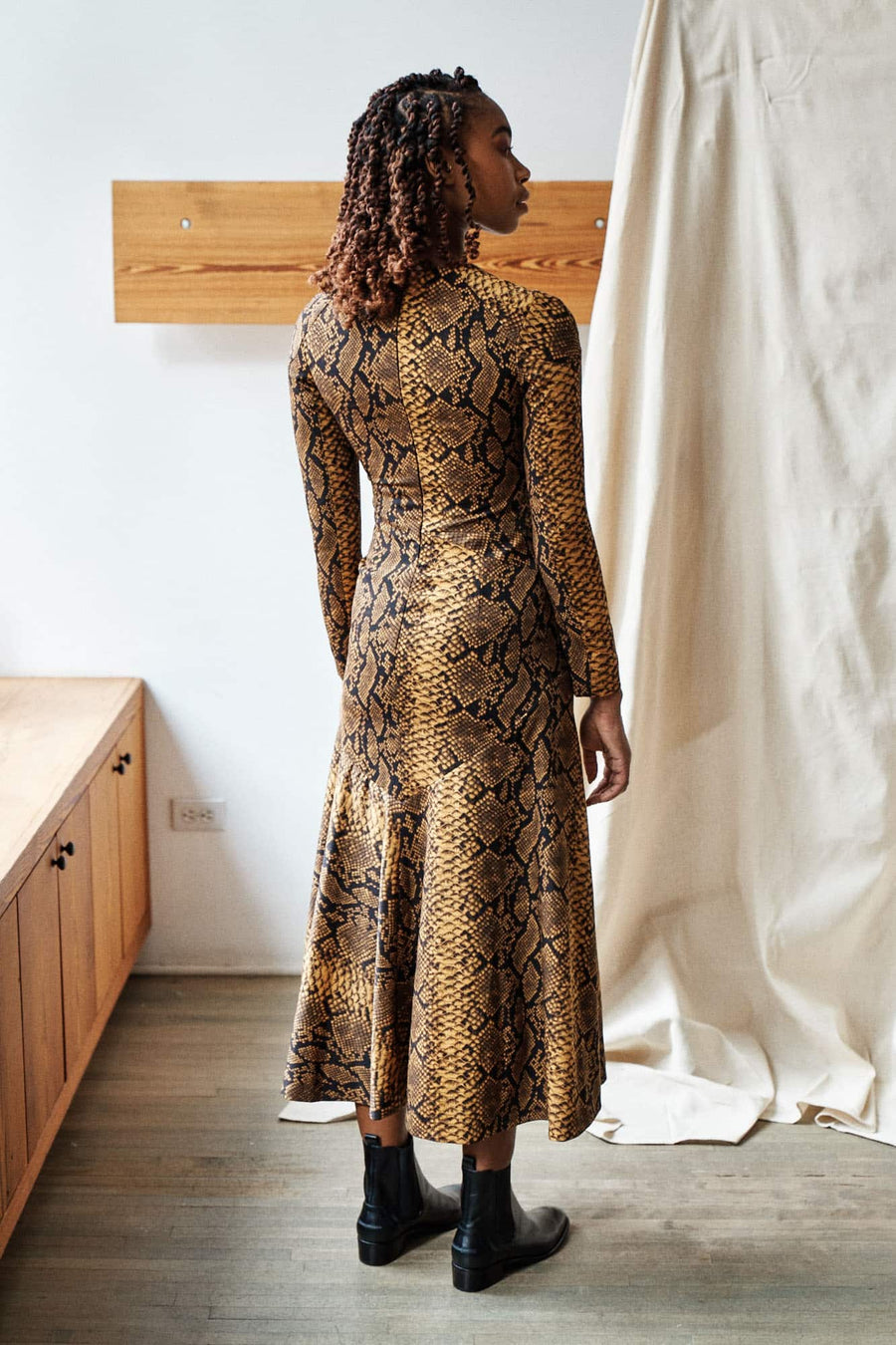 Danony Dress-gold