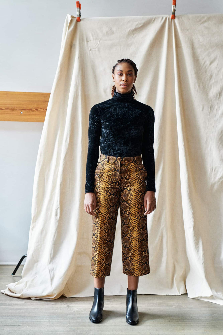 Poski Trousers-gold