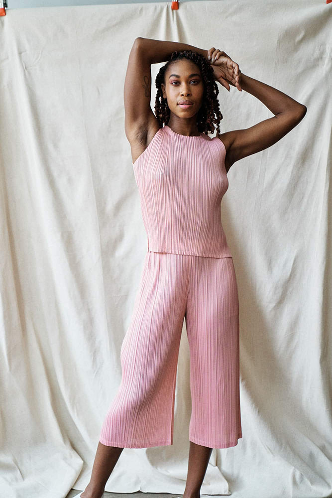 Monthly Colors Tank Top-light pink