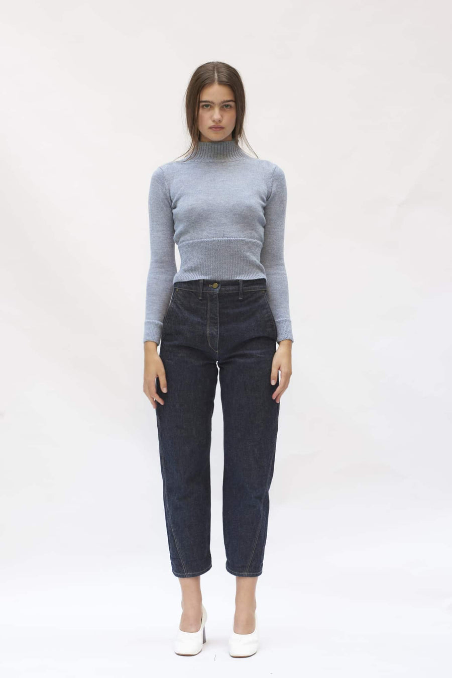 Marlane Sweater-baby blue