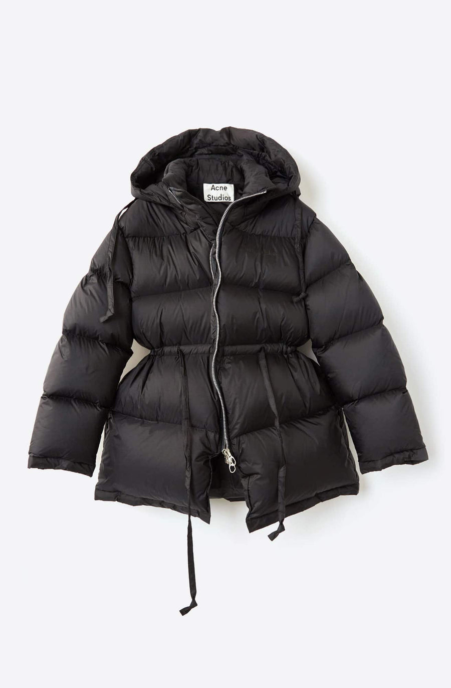 Down Puffer Jacket-black