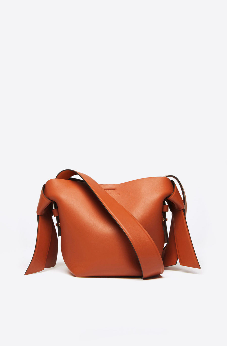 Musubi Mini Bag-almond brown