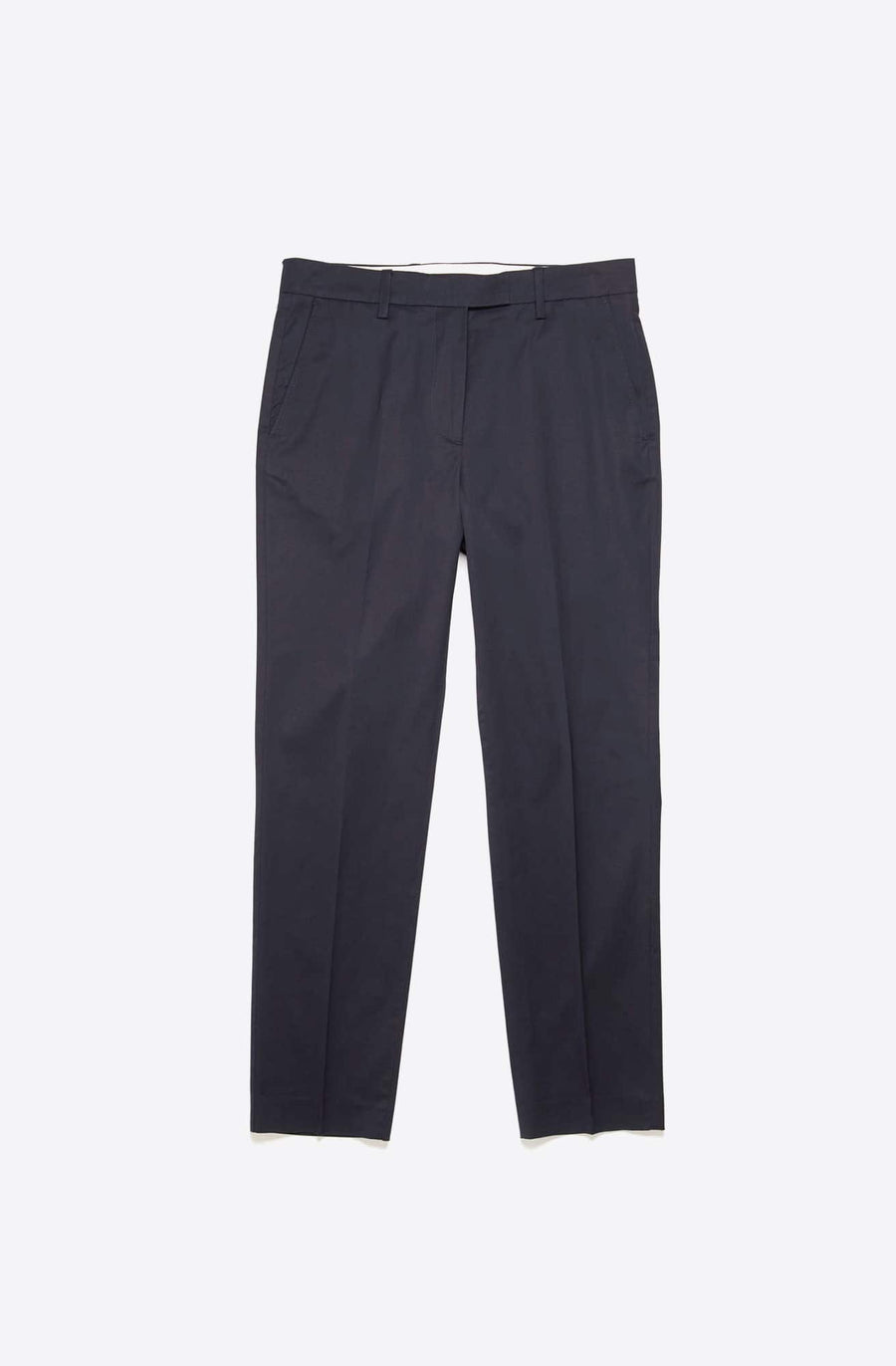 Ayan Satin Trouser-dark navy