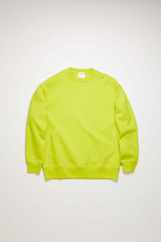 Forban Sweatshirt-sharp yellow