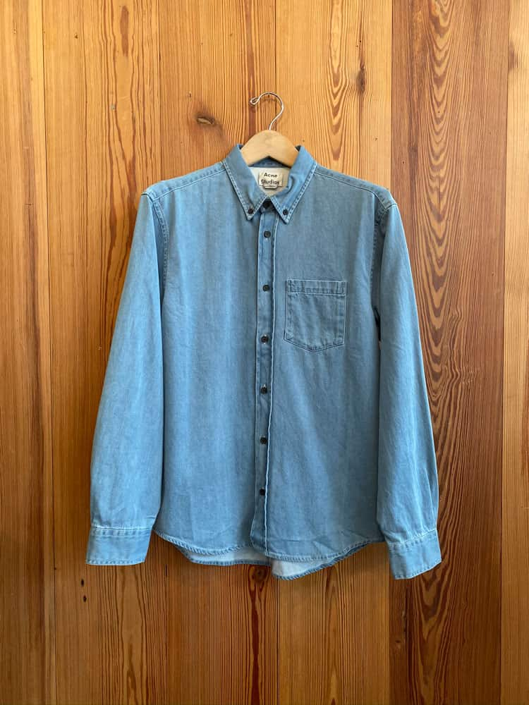 Sarkis Shirt-light blue