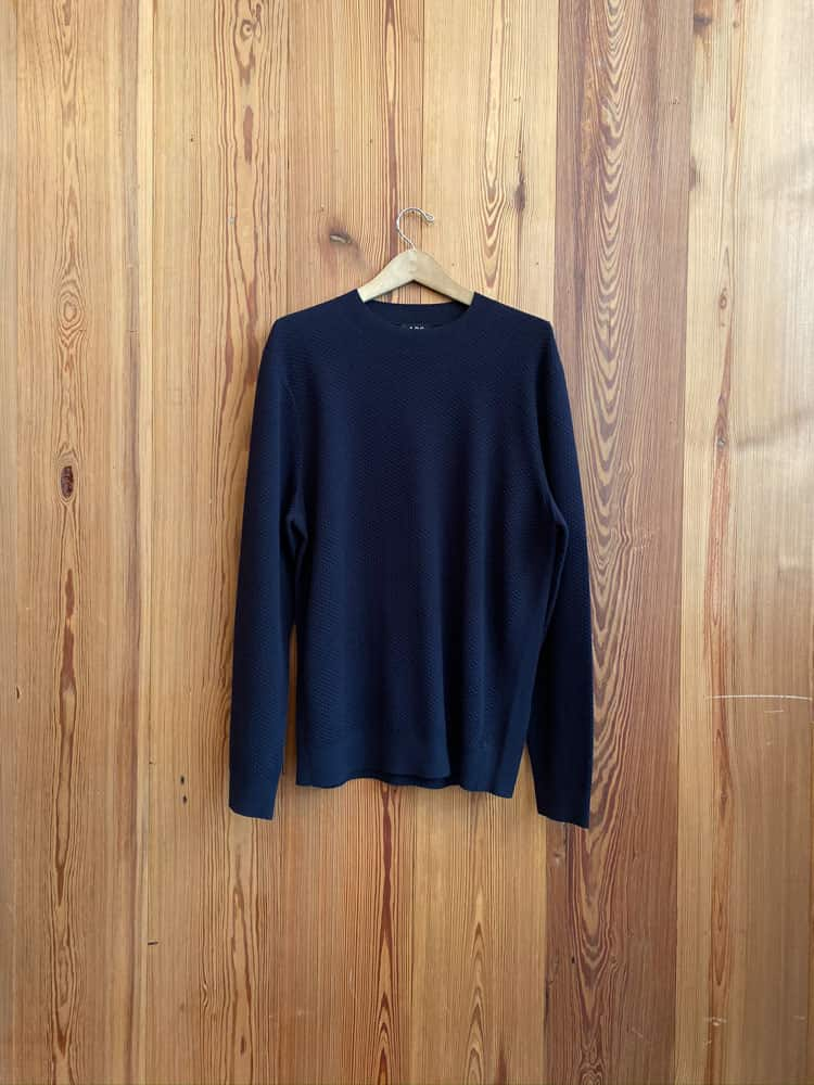 Limit Sweater-dark navy