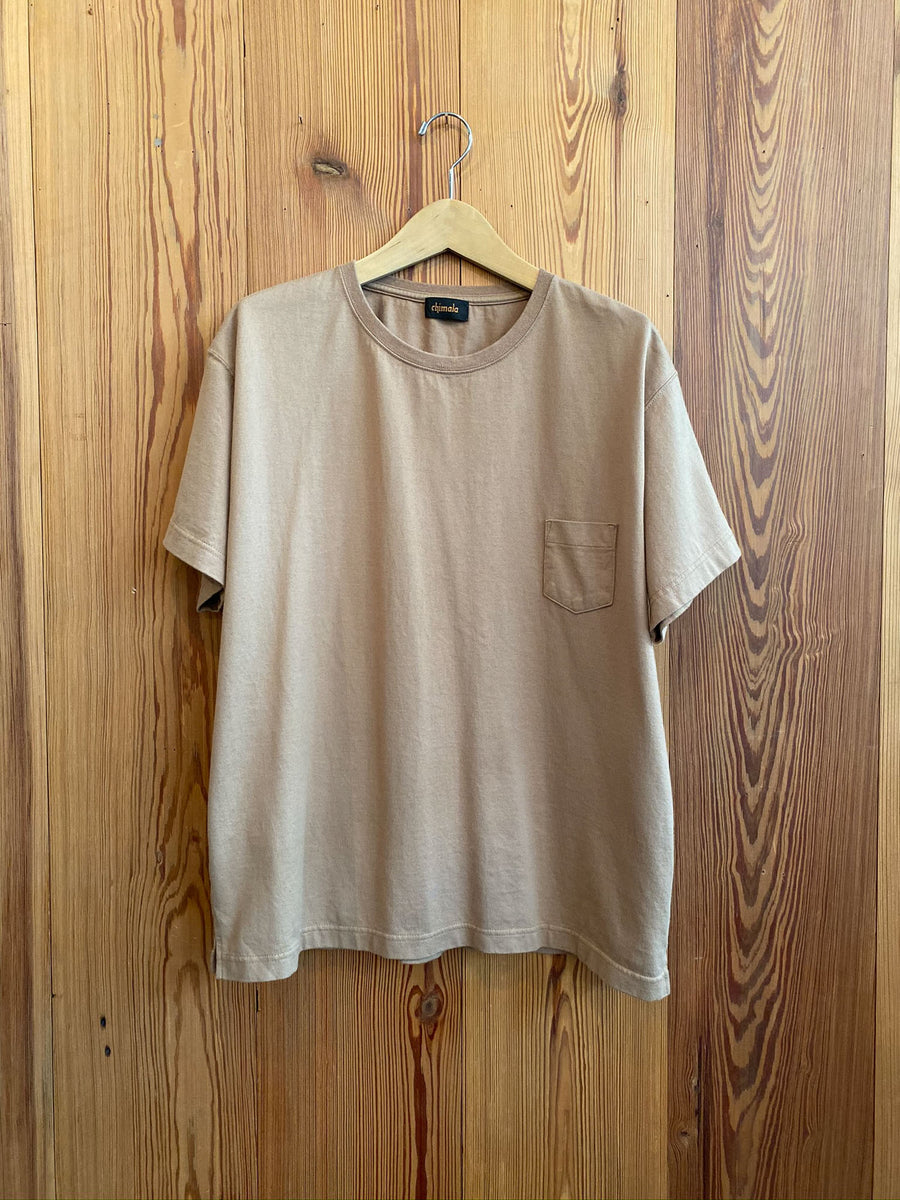 Pocket Tee-beige