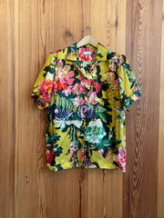 Clive Button Up-yellow