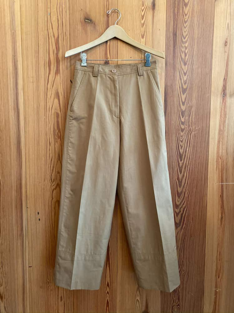 Paroval Trousers-camel
