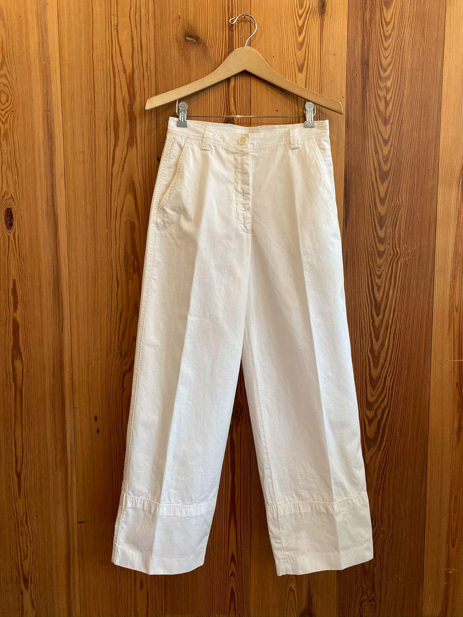 Paroval Trousers-white