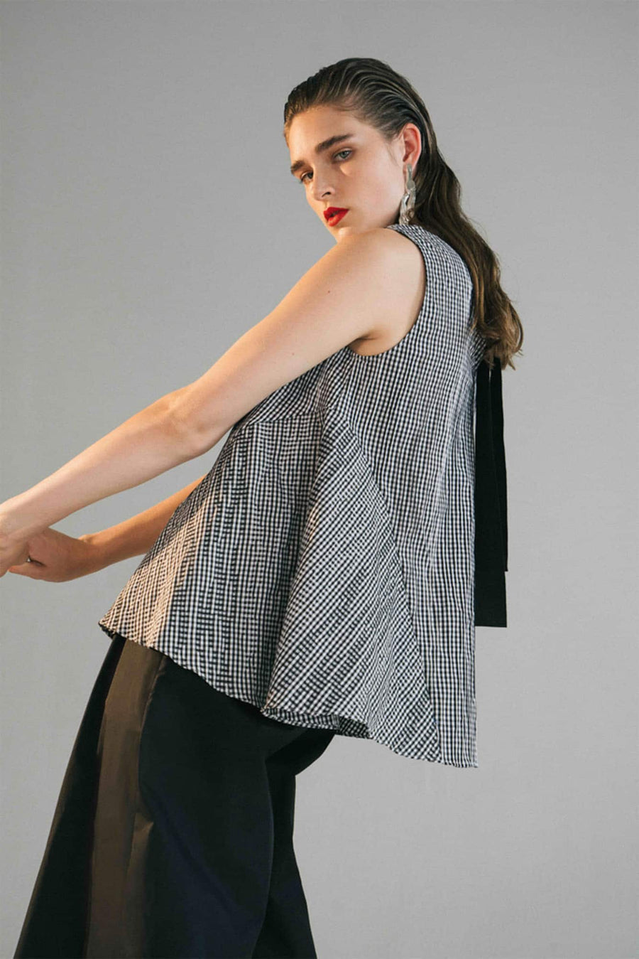 Lucia Blouse-black
