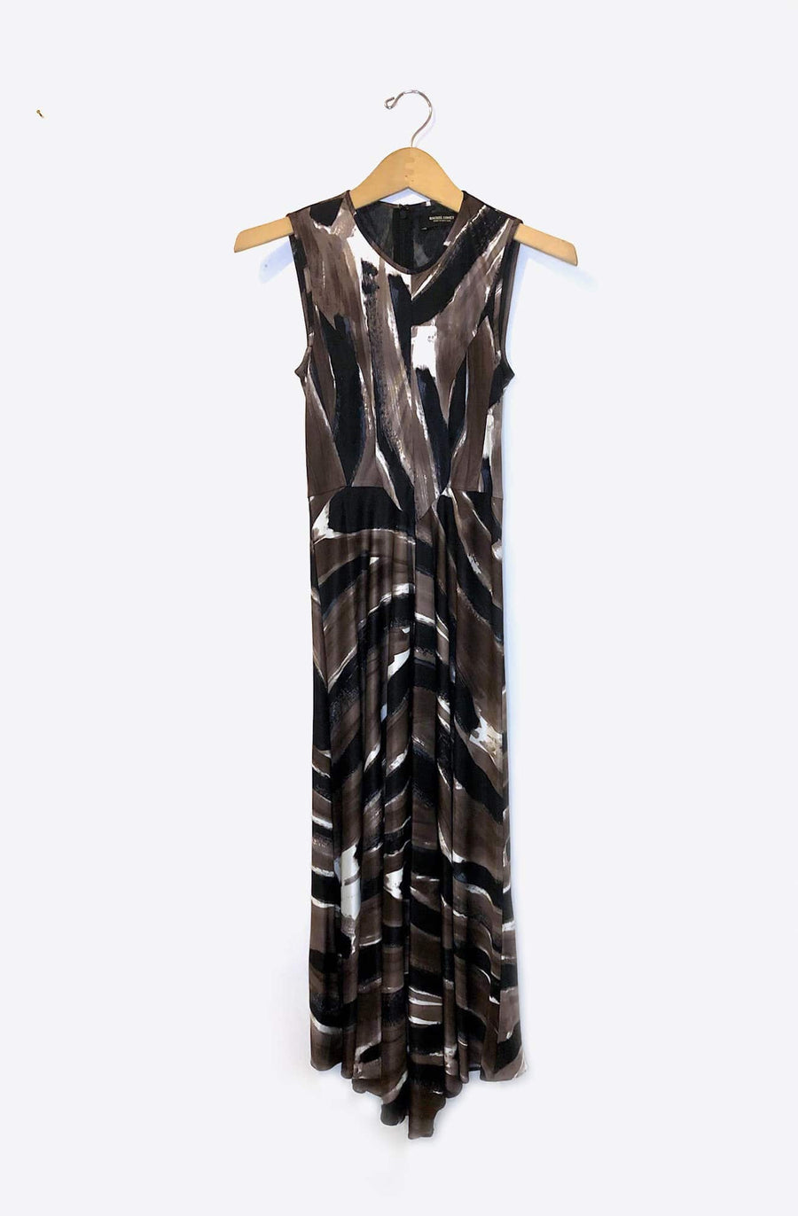Cascade Dress-mink