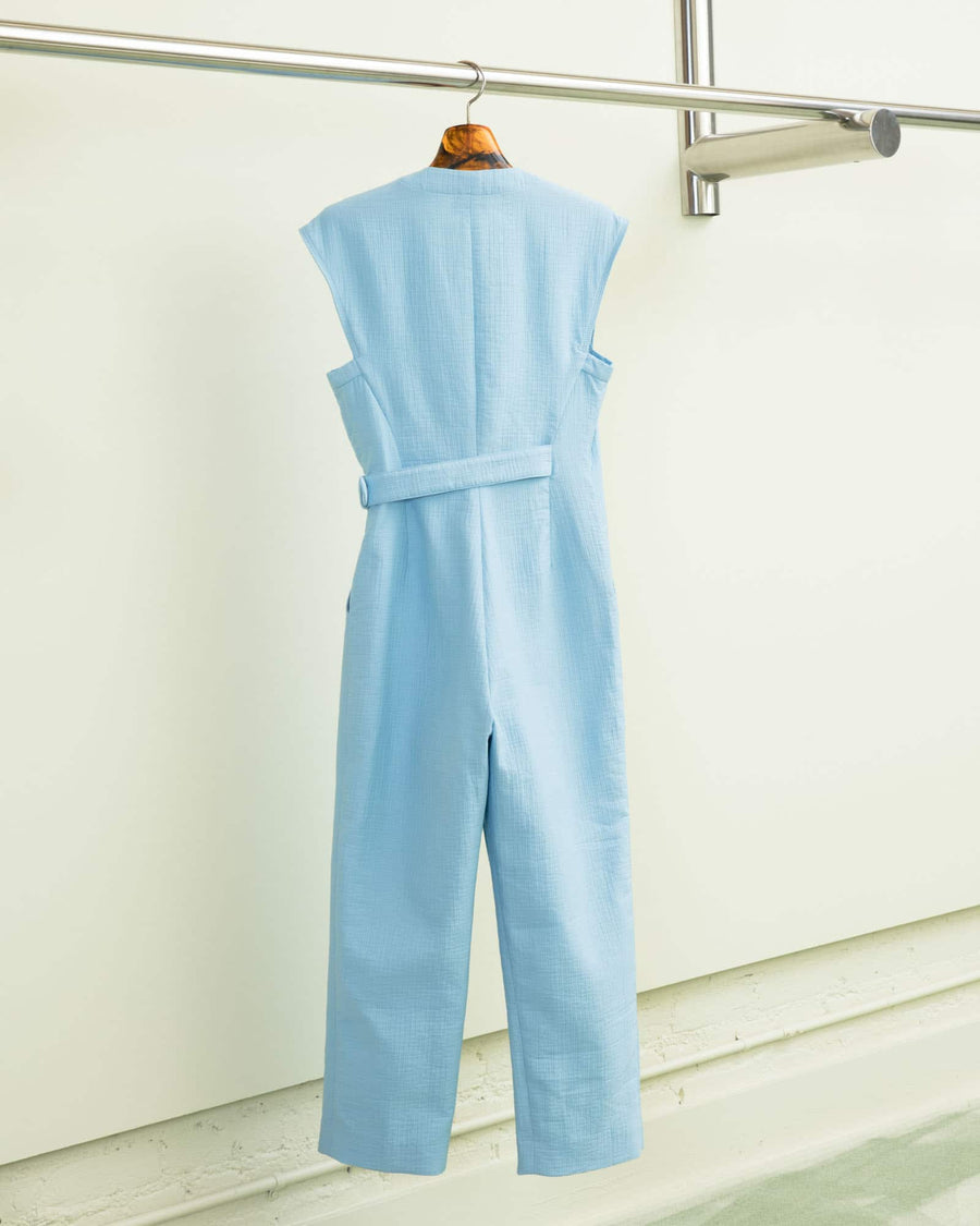 Steadfast Jumpsuit-sky blue