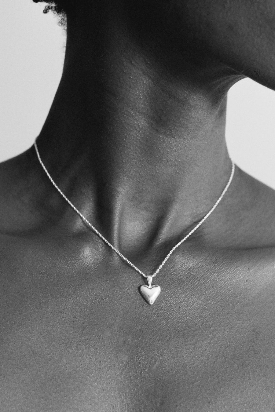 Tiny Heart Pendant-sterling silver