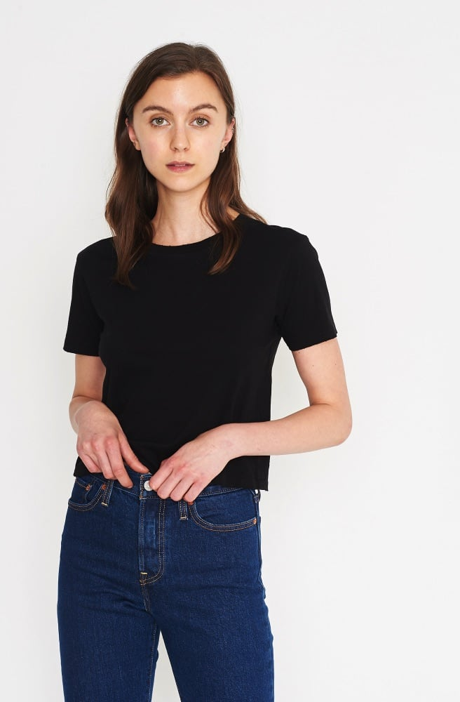 Babe Crop Tee-black