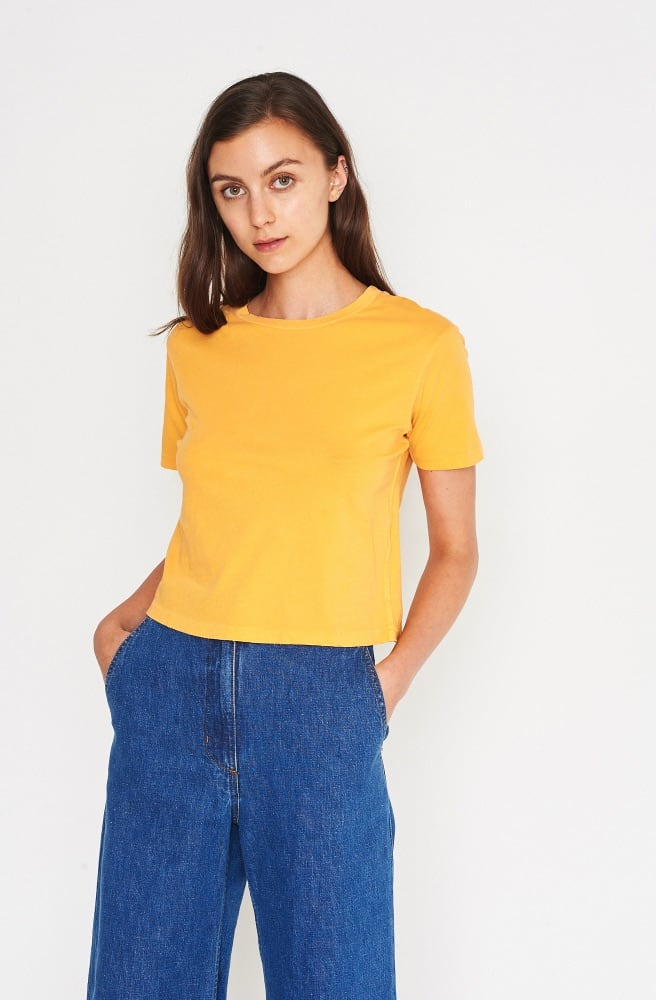 Babe Crop Tee-poppy