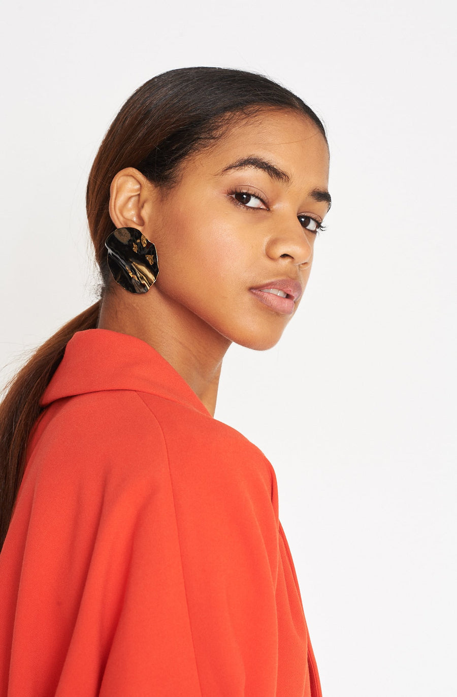 Bender Earring-brown/black