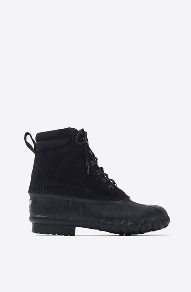 Duck Boots-black