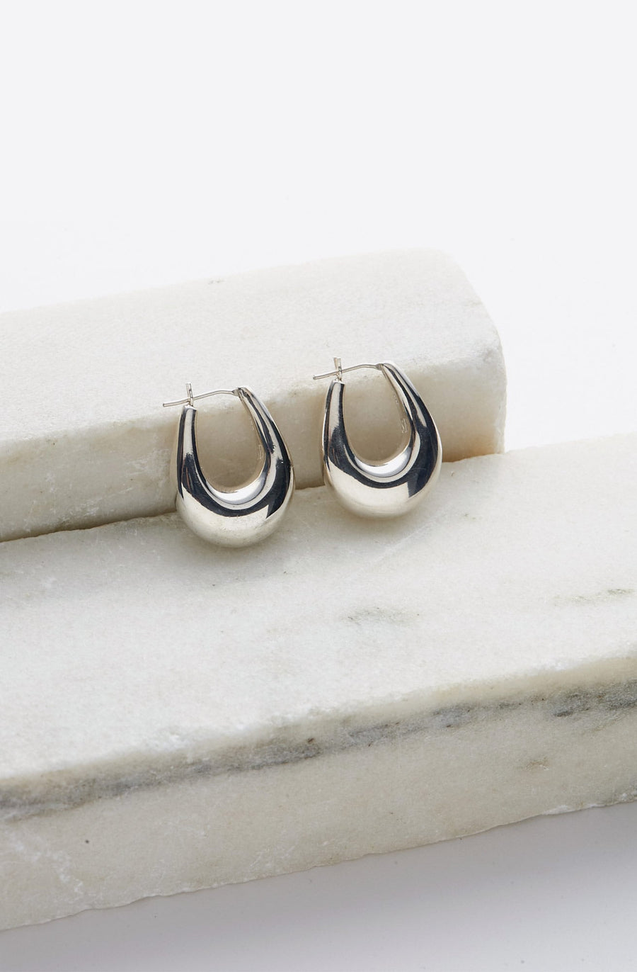 Large Etruscan Hoops-sterling silver