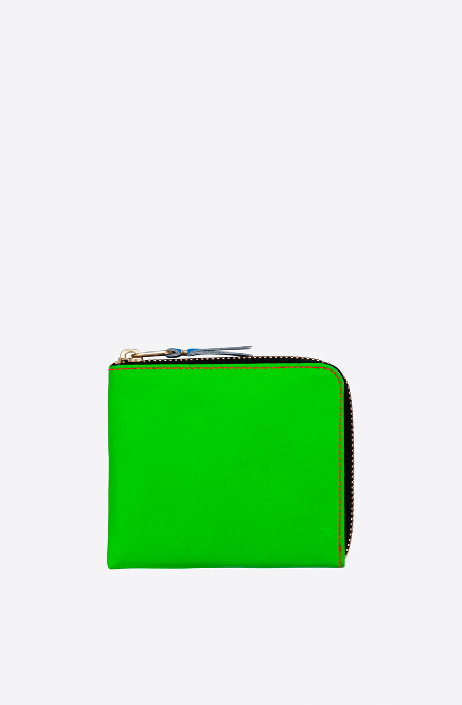 Super Fluo Corner Zip Wallet-green/orange