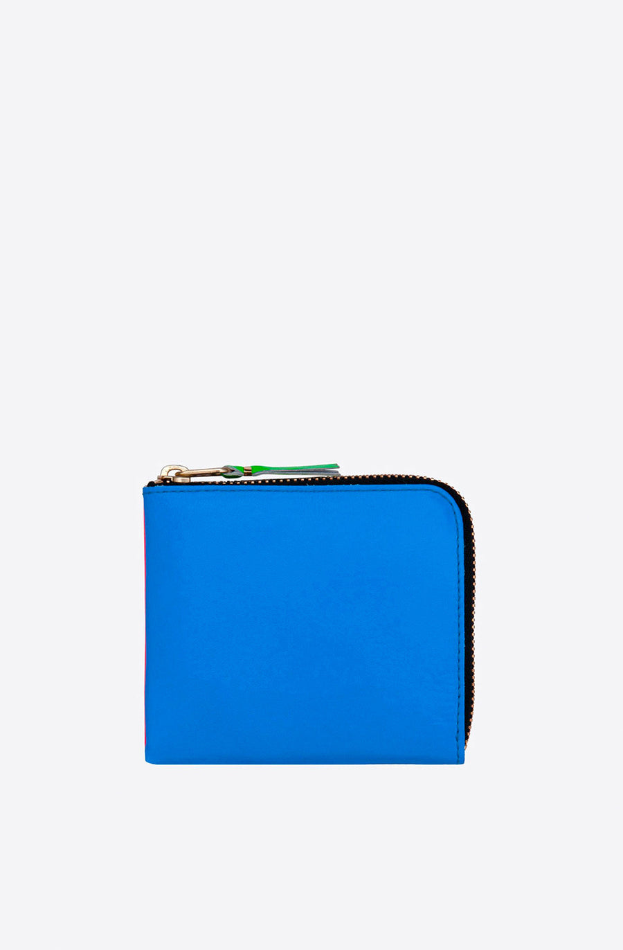 Super Fluo Corner Zip Wallet-orange/blue