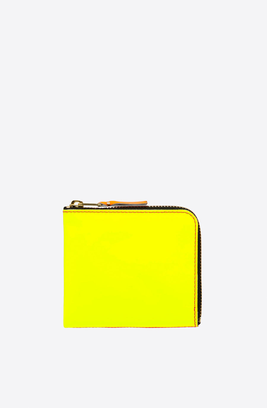 Super Fluo Corner Zip Wallet-pink/yellow