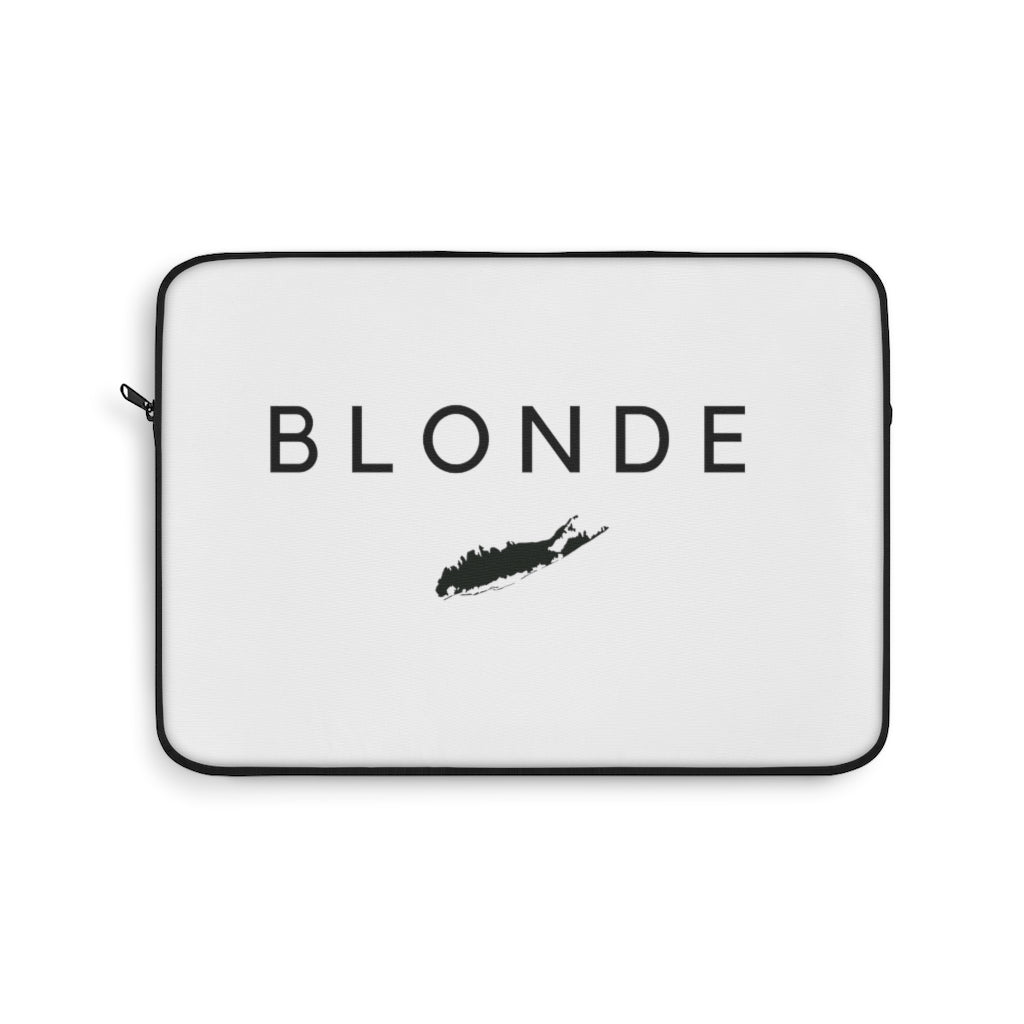 Blonde Laptop Sleeve