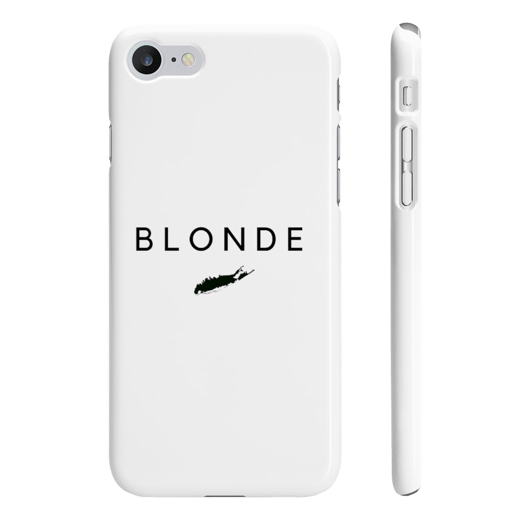 Long Island Blonde Phone Case