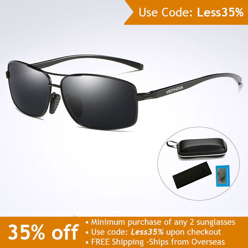 Polarized Aluminum Sun Glasses - Use Code: Less35%
