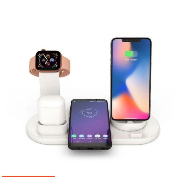 iPhone 11 / 11 Pro / 11 Pro Max Wireless Charger 4 in 1 Wireless Charging Dock Compatible with Apple Watch and Airpods