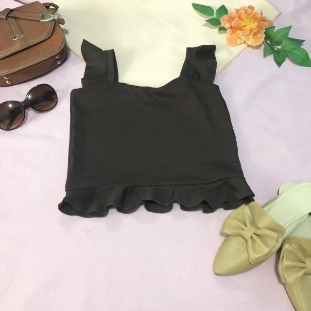 AOB: SRT - Simple Ruffled Top