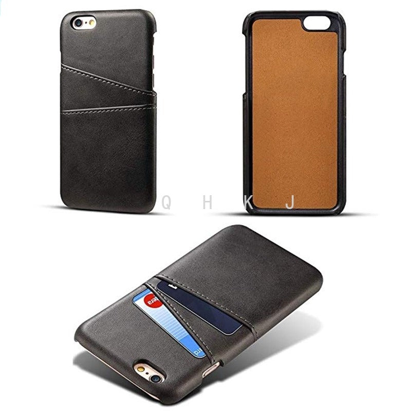 iPhone 6 6s 7 8 Plus X Wallet Shockproof Leather Case Cover - Use Code: Less10%