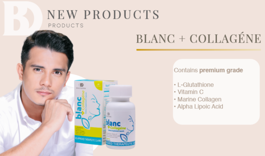 Blanc Gluta Capsule + Collagene
