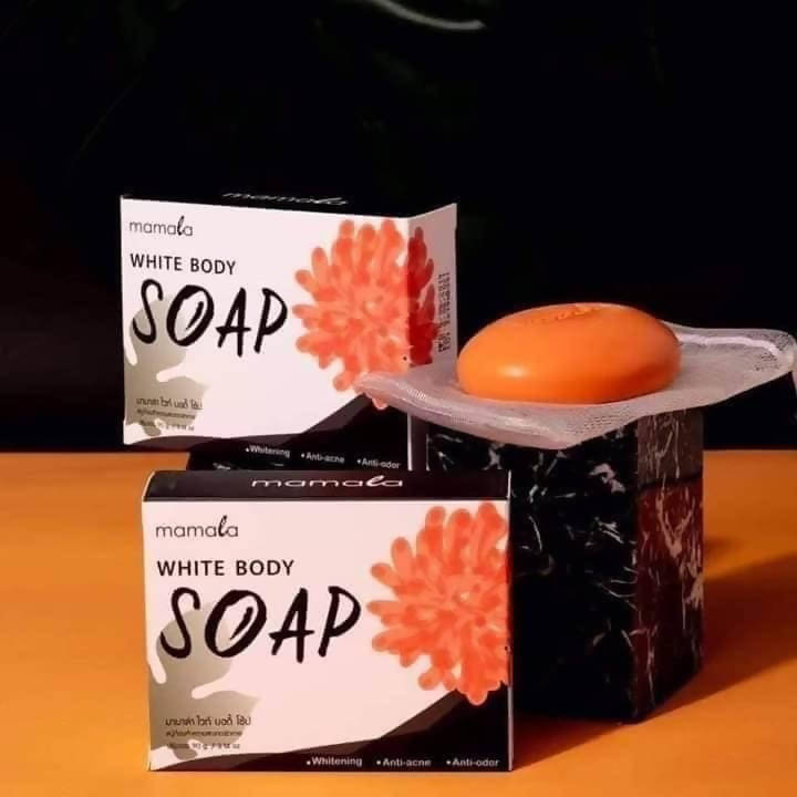 Mamala White Body Soap