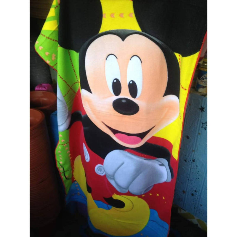Mickey Mouse Towel Design 100% cotton