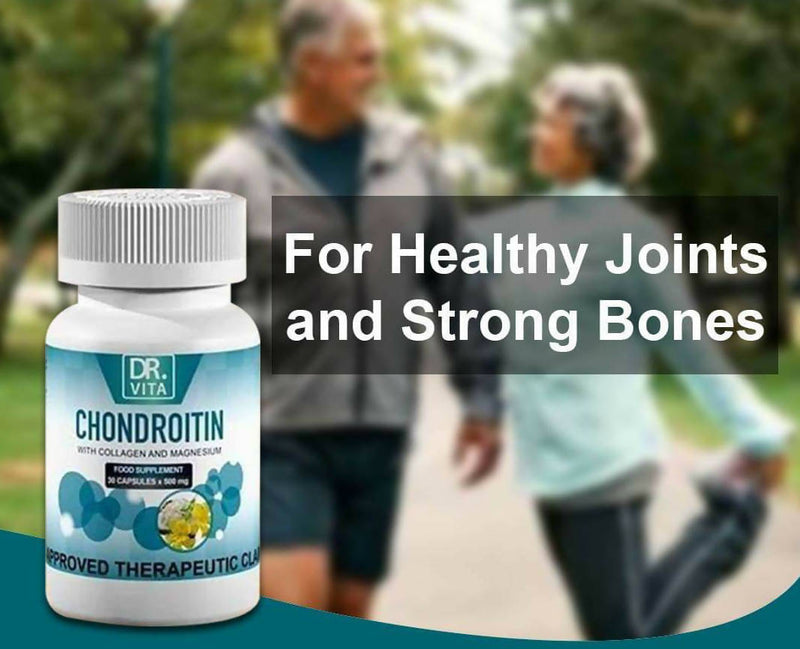 DR. VITA CHONDROTIN WITH COLLAGEN AND MAGNESIUM FOR (ELDERLY)