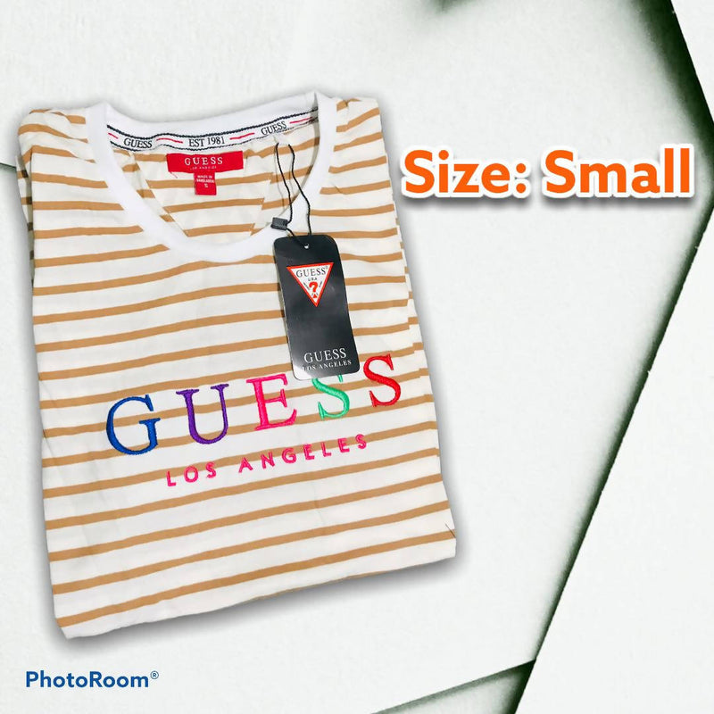 KMOS GUESS STRIPES UNISEX Small